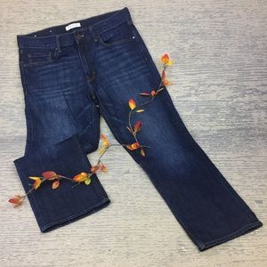 Banana Republic dark wash boy fried jeans